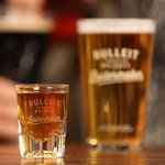 Bulleit Bourbon and Lager