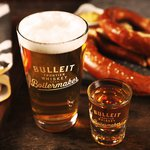 Bulleit Rye and Blonde