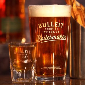 Bulleit Rye & IPA or Blonde