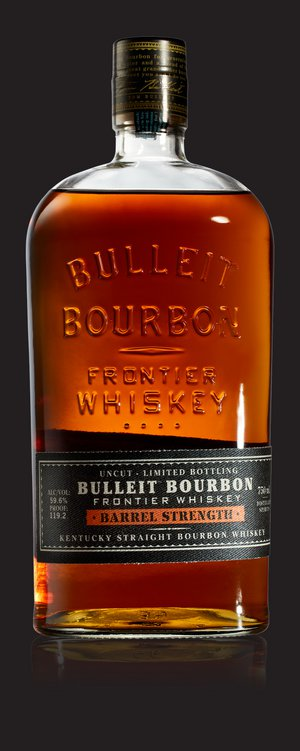 Bulleit Barrel Strength Kentucky Straight Bourbon Whiskey - Bulleit